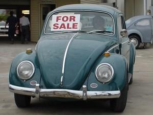 Koop van een tweedehands auto.